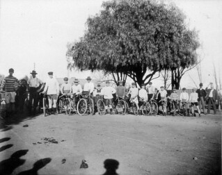 Scone Bicycle Club Road Race - Scone, NSW, 9 June 1906