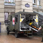 Armed Forces Day, Birmingham - Victoria Square - Ambulance