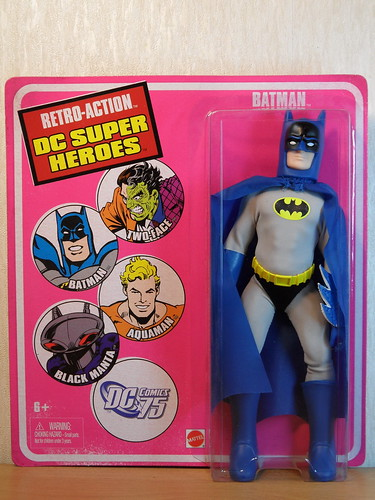Mego Style Mattel Retro-Action DC Super Heroes 2010 - Batman