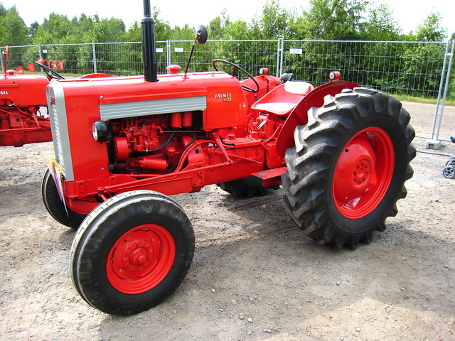Laws Driving Tractor Building Site