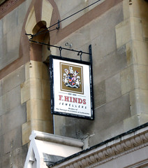 F Hinds, Jewellers, Stamford
