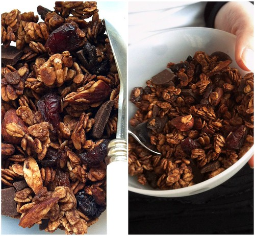 Chocolate granola1