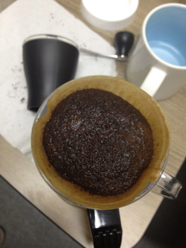 Grinding coffee bean with hand mill - 2nd