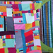 improv solids quilt top