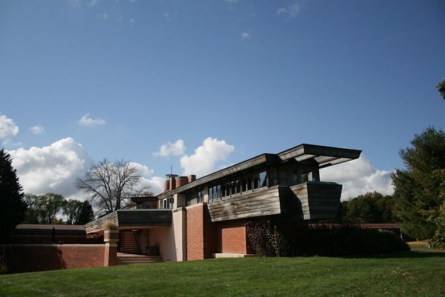 Design Study: Wingspread, Wisconsin. by Frank Lloyd Wright