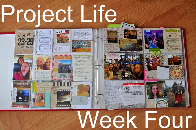 Project Life Week Four