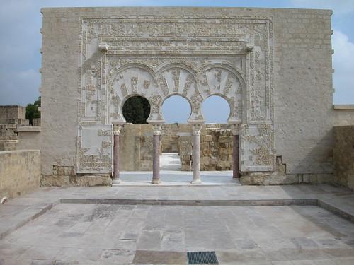 Casa de Ya'far at Madinat al-Zahra, Cordoba, SPAIN