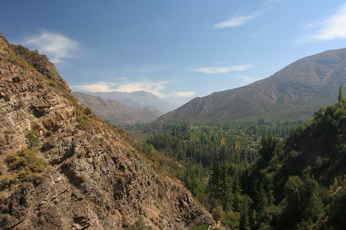 view of the Maipo Canyon
