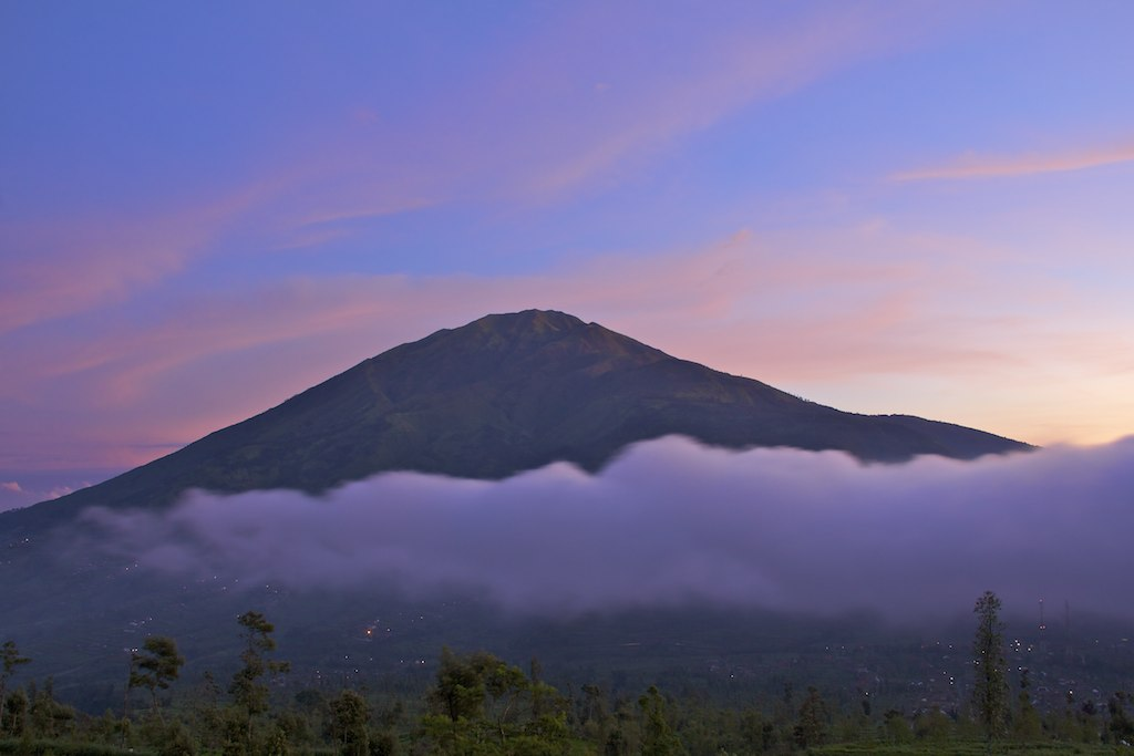 Elevation Of Samiran Selo Boyolali Regency Central Java