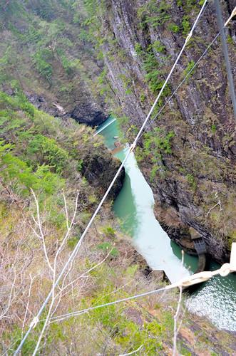 新緑&紅葉の名所「瀬戸合峡 」で冷や汗ウォーキング 川俣温泉