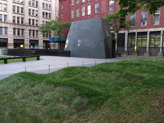 Image of African Burial Ground National Monument.