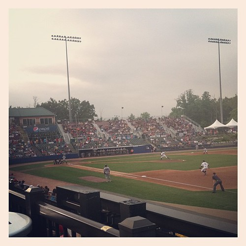 Hudson Valley Renegades won their opening game - don't be fooled, the stadium filled up