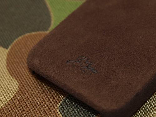 J.Crew / Leather iPhone 4 Case