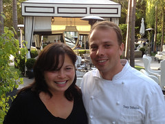 With Chef Tony DiSalvo