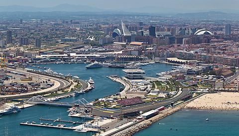 2012年 F1世界選手権 第8戦ヨーロッパGP バレンシア市街地コース