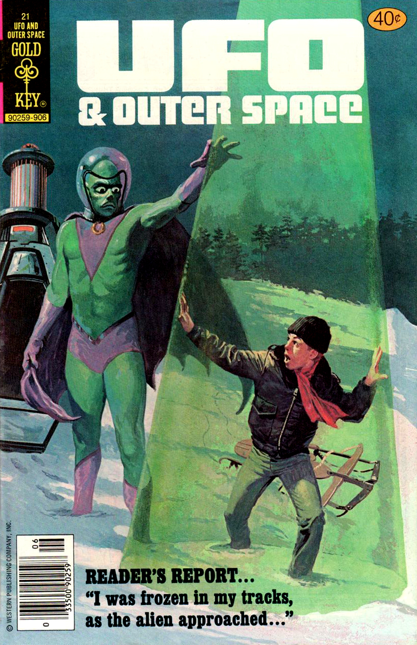 UFO and Outer Space #21 (Gold Key, 1970)