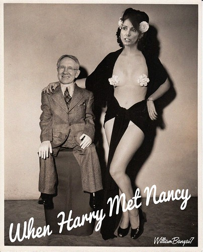 WHEN HARRY MET NANCY by WilliamBanzai7/Colonel Flick