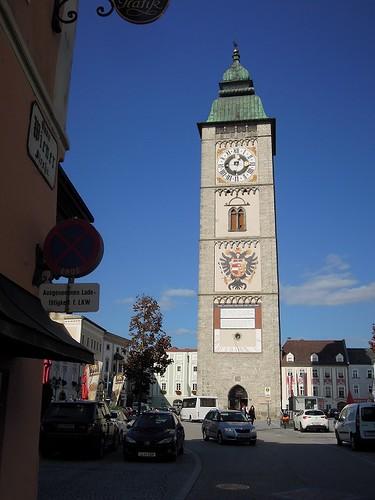 Enns中心部の塔