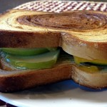 Cinnamon Swirl Grilled Cheese