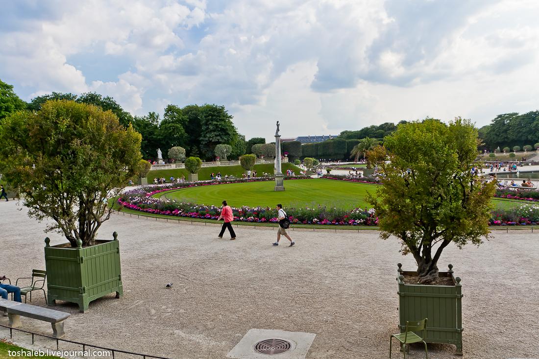 Люксембургские сады-8