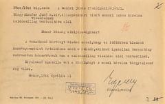 VI/4. Kaufer Jenő m. kir. állampénztári tiszt kérelme zsidócsillag viselésének mentesítése alól MNL_PML_6_6_V_1075_Cb_3546_1944_3