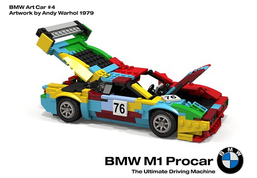 BMW M1 Procar Racer - BMW Art Car #4, Andy Warhol - 1979