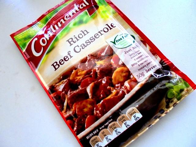 Beef casserole mix