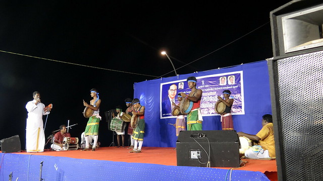 We were also lucky enough to attend a cultural programme which was happening on MG road