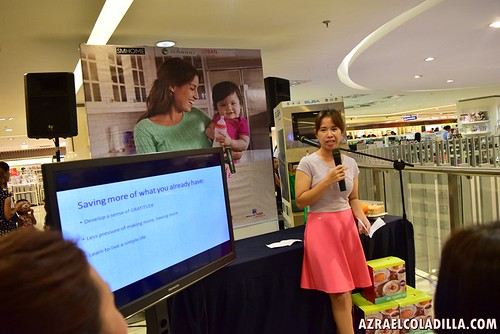 Mommy tips by MommyLace.com at Melawares event in SM MOA