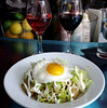 Wine and Chilaquiles at Jet Wine Bar