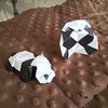 #origami #panda - designs by Jacky Chan and Román Díaz