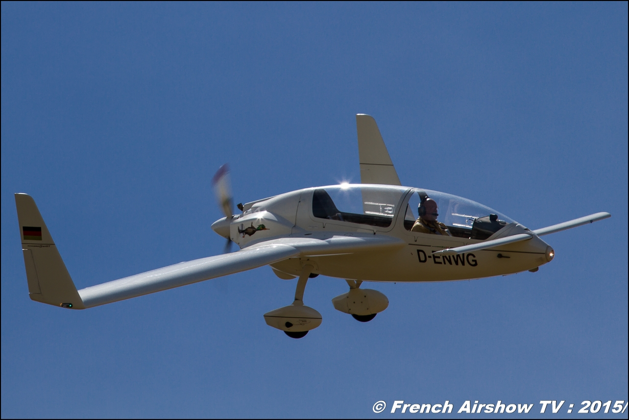 Gyroflug SC-01B-160 Speed Canard,D-ENWG ,Fly'in Saint-Yan 2015 ,Fly in LFBK 2015, Meeting Aerien 2015
