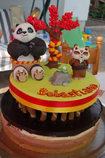 Kung Fu Panda Inspired Cake by Le Torte di CatiaA