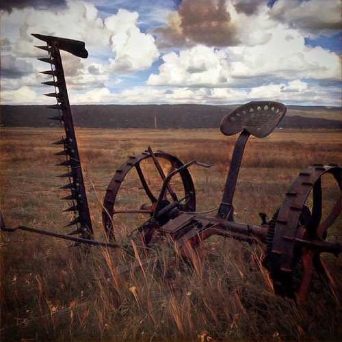 #cliché #prisma #farmequipment #rust #newmexico