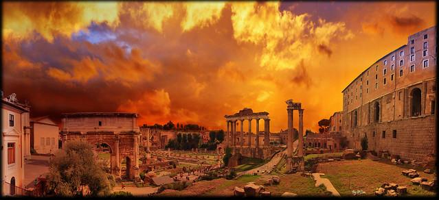Forum of Rome.