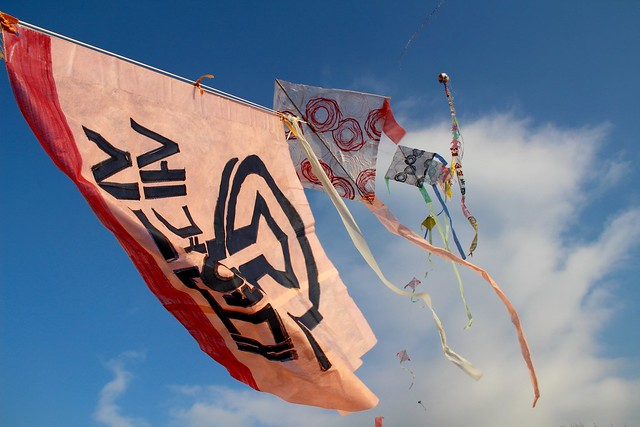 A series of kites, Canon EOS 100D, Canon EF-S 18-200mm f/3.5-5.6 IS
