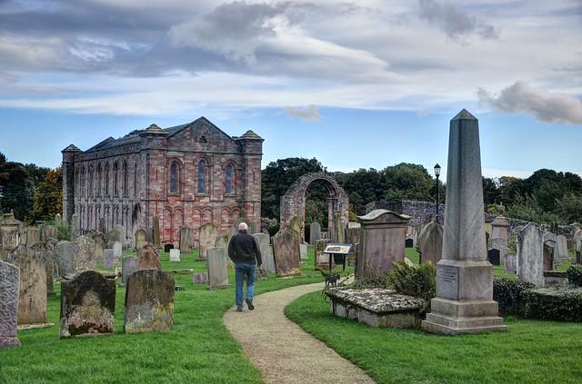 Coldingham Priory, Berwickshire, Scotland, Nikon D7000, AF-S DX VR Zoom-Nikkor 18-105mm f/3.5-5.6G ED