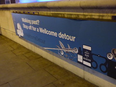 Wellcome Collection - Euston Road, London - banner - Walking past? Stop off for a Wellcome detour