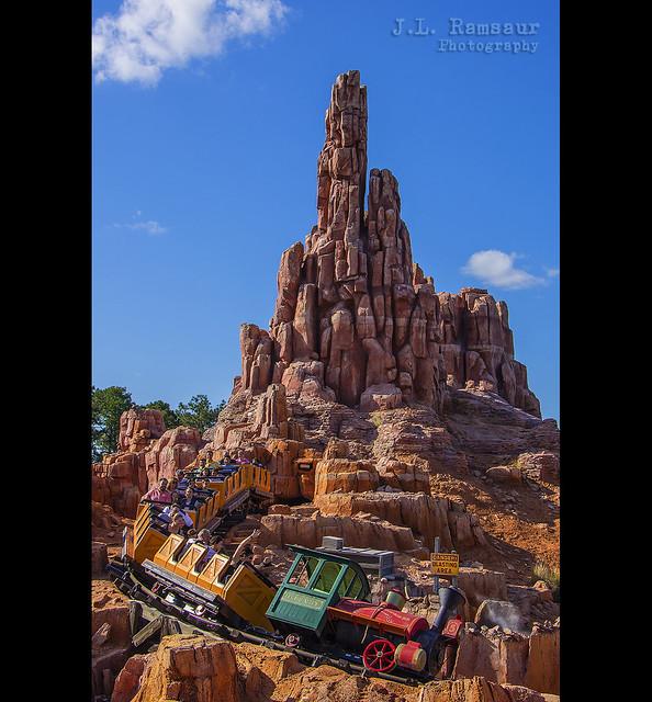 Big Thunder Mountain Railroad - Disney's Magic Kingdom