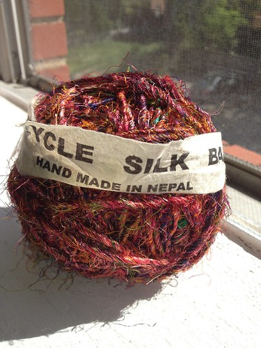 recycled silk ball