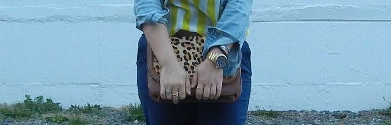 leapard bag
