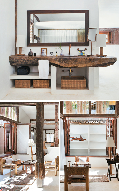 A Rustic Beach House In Bahia Brazil The Style Files