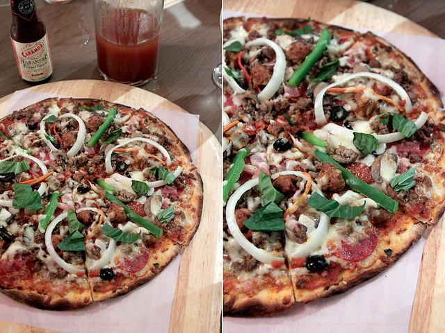 Napa Special Pizza
