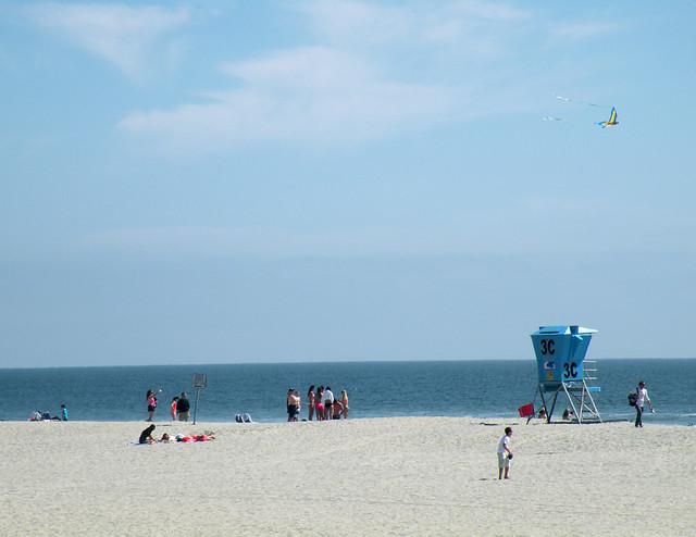 Beach Goers at Coronado