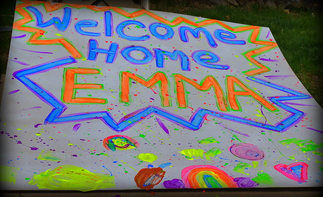 Welcoming Emma Home From China!