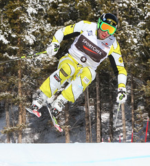 Dave Duncan  in action during the Sport Chek Ski Cross Canadian Championships.