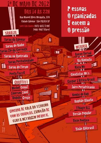 P.O.V.O. (Pessoas Organizadas Vencem a Opressão) by GregOne Brasil