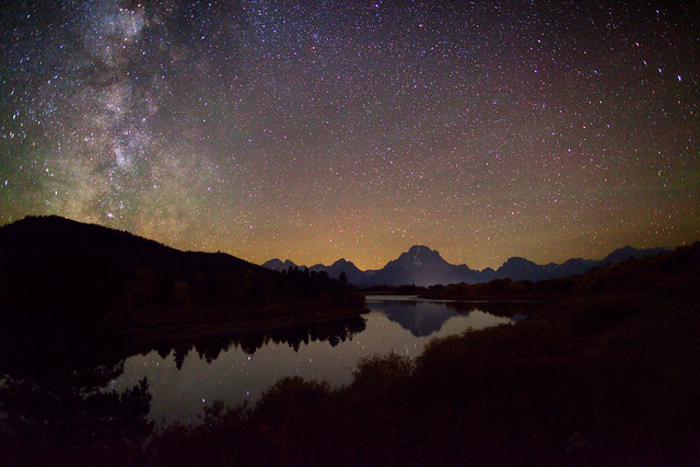 Starry Autumn Night at Oxbow