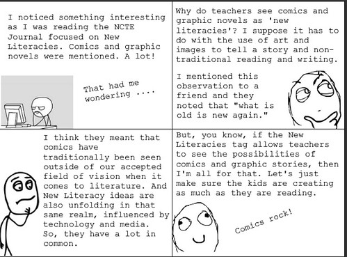 comics in NCTE Journal