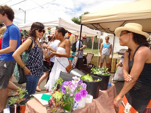 Three Part Harmony Farm at the Grey Market in DC